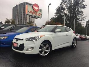 2013 Hyundai Veloster w/Tech PKG  NO ACCIDENTS   6 SPEED MANUAL