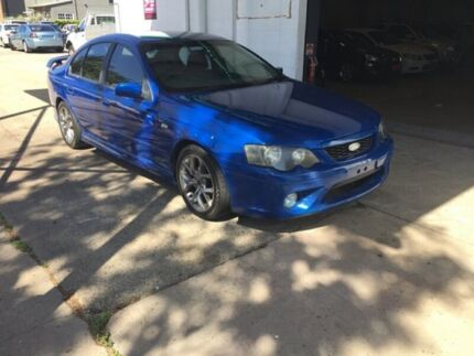2005 Ford Falcon Blue Sedan Hermit Park Townsville City Preview