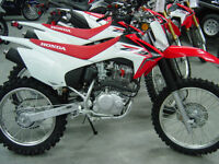 NEW HONDA Off Road	CRF 230