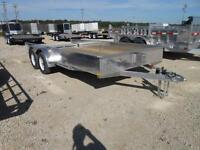 2015 Stronghaul 82X16 Solid Side Aluminum Utility Trailer