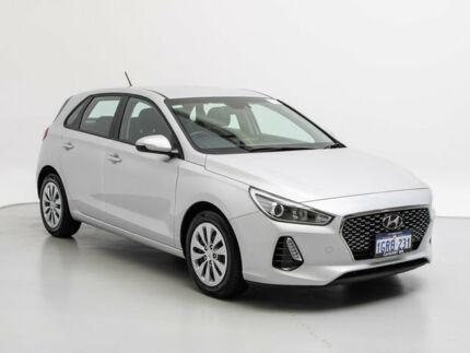 2018 Hyundai i30 PD2 MY19 GO SmartSense Platinum Silver Metallic 6 Speed Automatic Hatchback Jandakot Cockburn Area Preview