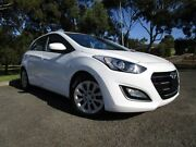 2016 Hyundai i30 GD4 Series II MY17 Active White 6 Speed Sports Automatic Hatchback Old Reynella Morphett Vale Area Preview