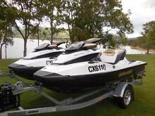 2 x GTX 155 SeaDoo Jetski with OceanicTandem Trailer Caboolture Caboolture Area Preview