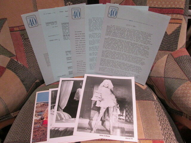 BETTER A WIDOW - 1968 film VIRNA LISI - press photos and promo / advert material