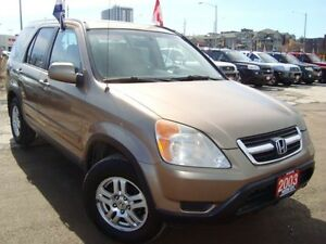 2003 Honda CR-V EX-L 4WD Accident Free