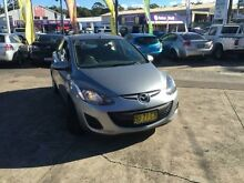 2013 Mazda 2 DE MY12 Neo Grey 4 Speed Automatic Hatchback Cardiff Lake Macquarie Area Preview