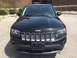 2014 JEEP COMPASS,4x4,LEATHER, SUNROOF