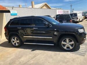 2011 Jeep Grand Cherokee WK Limited Black Sports Automatic Wagon