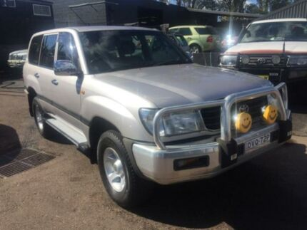 2002 Toyota Landcruiser FZJ105R GXL Silver 4 Speed Automatic Wagon Edgeworth Lake Macquarie Area Preview