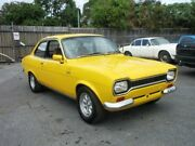 1972 Ford Escort Yellow 4-Speed 2-Door Sedan Benowa Gold Coast City Preview