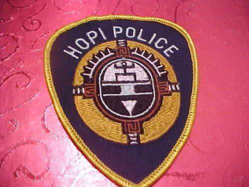 ARIZONA HOPI TRIBE POLICE PATCH SHOULDER SIZE UNUSED