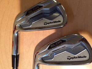 Taylormade Left Handed SLDR irons