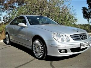 2006 Mercedes-Benz CLK280 C209 MY06 Elegance Silver 7 Speed Automatic Coupe Enfield Port Adelaide Area Preview