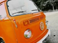 VW Campervan Westfalia Campmobile T2 Late Bay Window