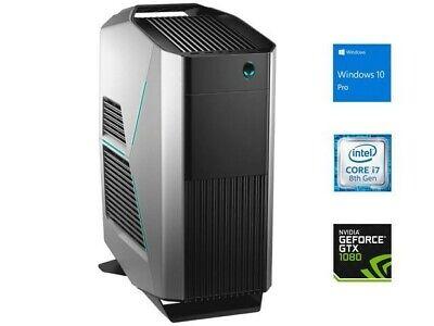 Dell Alienware Aurora R8 Desktop i7-9700 NVIDIA1080-TI 16GB RAM 500GB PCIe NVME
