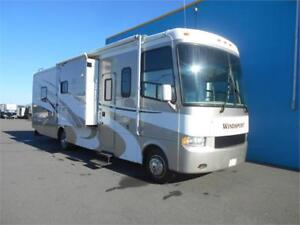 WOW!!! Windsport 34' A Class Motorhome with 3 Slides!!!