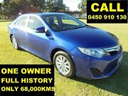 2014 Toyota Camry AVV50R Hybrid H Reflex Blue Continuous Variable Sedan Ellenbrook Swan Area Preview