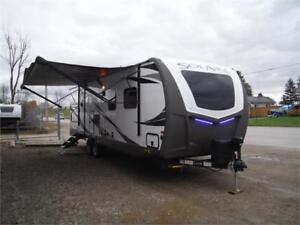 2019 Solaire 258RBSS GT3 Ultra Lite Travel Trailer w O/S kitchen
