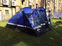 4 Man Tent - HiGear Gobi 4 & Double Sleeping Bag Brand New (only been used a couple of times!)