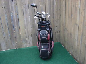 Men's Right hand Golf sets Adam with Bag Boy golf bag