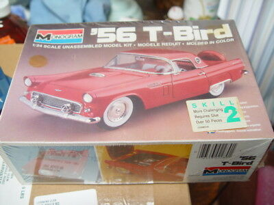 56 Thunderbird T-Bird Roadster  USA Made Vintage!! Sealed Kit!!
