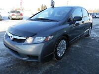 2011 Honda Civic Sdn DX GRIS DEMARREUR