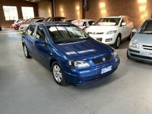 2002 Holden Astra TS CD Blue 4 Speed Automatic Hatchback Dandenong South Greater Dandenong Preview