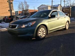 2008 Honda Accord LX  TRES BONNE MECANIQUE  LIQUIDATION 3999$