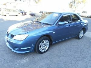 2006 Subaru Impreza MY06 2.0I (AWD) Blue 4 Speed Automatic Sedan Maidstone Maribyrnong Area Preview