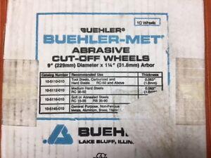 Abrasive Cutoff Wheels - 9 inch - Qty 10 (1)