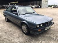 BMW e30 318i F Reg Coupe / 2 Door (1988) Starts and Drives, Vast Service History, 2 Keys, Automatic