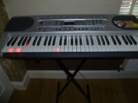 Casio LK-45 Key Lighting Keyboard, in excellent condition, ideal Christmas present!