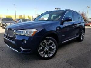 2016 BMW X3 xDrive28i, Nav, BackUp cam, Stop/Start system