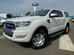 2015 Ford Ranger PX MkII XLT Double Cab White 6 Speed Sports Automatic Utility Kilmore Mitchell Area Preview