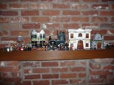 Lego Diagon Alley 10217, plus Hagrid's Hut 4738, & Quidditch 4737