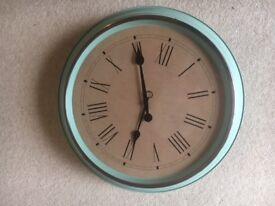 Green wall clock - ikea