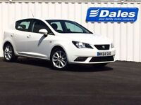 Seat Ibiza 1.4 Toca 5Dr Hatchback (white) 2014