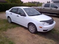 2005 Ford Focus Sedan with Low Kilometres