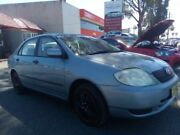 2003 Toyota Corolla ZZE122R Ascent Silver 4 Speed Automatic Sedan Revesby Bankstown Area Preview