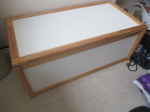 Rvs Wandplank Ikea.Ikea Apa Storage Box White Pine X2 In Hamilton South