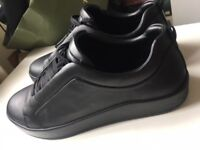 Zara Black sneakers size uk9 / eur 43