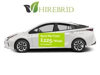£225/Week - PCO CAR HIRE/RENT2BUY WITH INSURANCE – TOYOTA PRIUS