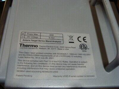 Thermo Electron Antaris Target Series Blend Analyzer
