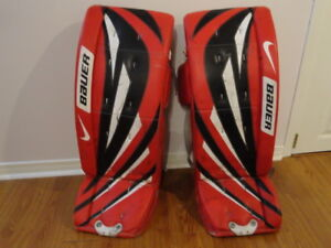 MUST SELL!!! NIKE BAUER Goalie pads in GREAT condition - $225