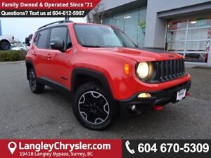 2016 Jeep Renegade Trailhawk <B>*NAVIGATION*ACCIDENT FREE*REM...