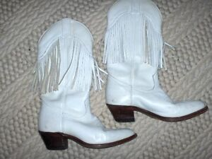 BOULET Size 8 Cowgirl Boots