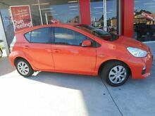 2013 Toyota Prius c NHP10R Hybrid Sunrise Continuous Variable Hatchback Allawah Kogarah Area Preview