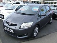2010 TOYOTA AURIS TR 1.4 D 4D Diesel 5 Door From GBP6,195 + Retail Package