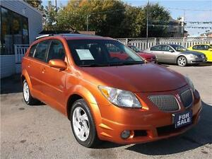 2005 PONTIAC VIBE * POWER GLASS ROOF * AUTOMATIC * LOADED *