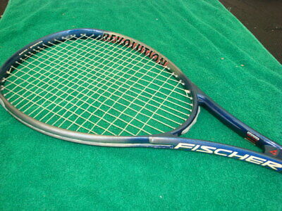 "Used,  Fischer Revolution Vacuum Club + 3.5 cm 28"" Tennis Racquet 4 3/8 Grip for sale  Shipping to Canada"